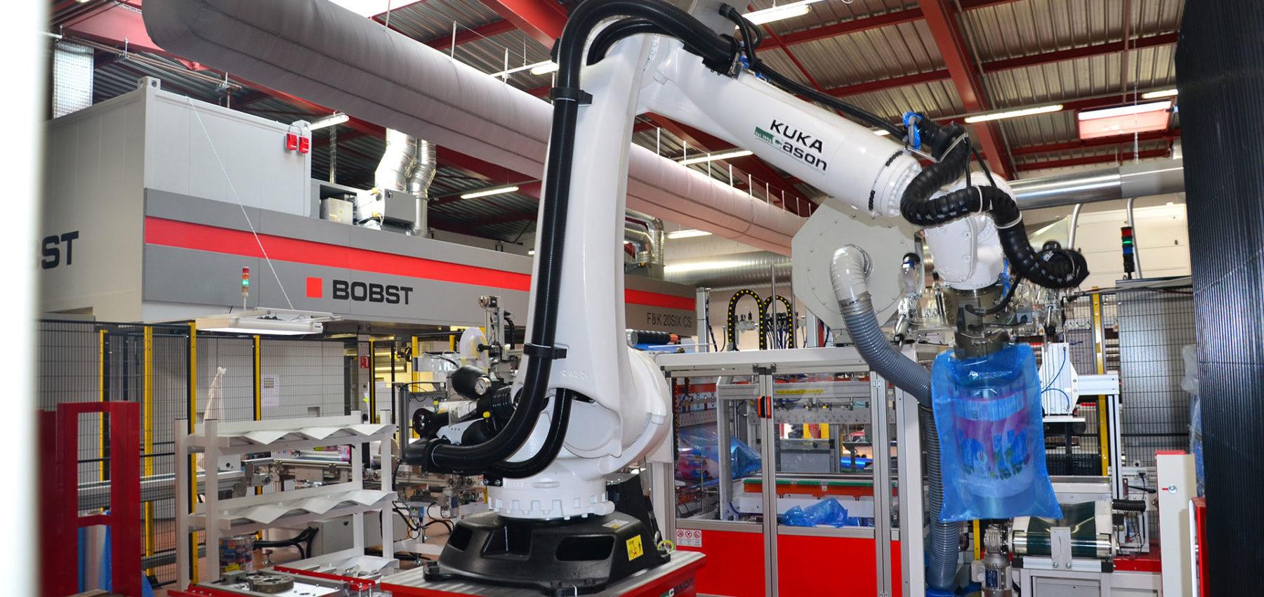 Plant Full Automatic Handling Machine - Cason Companies