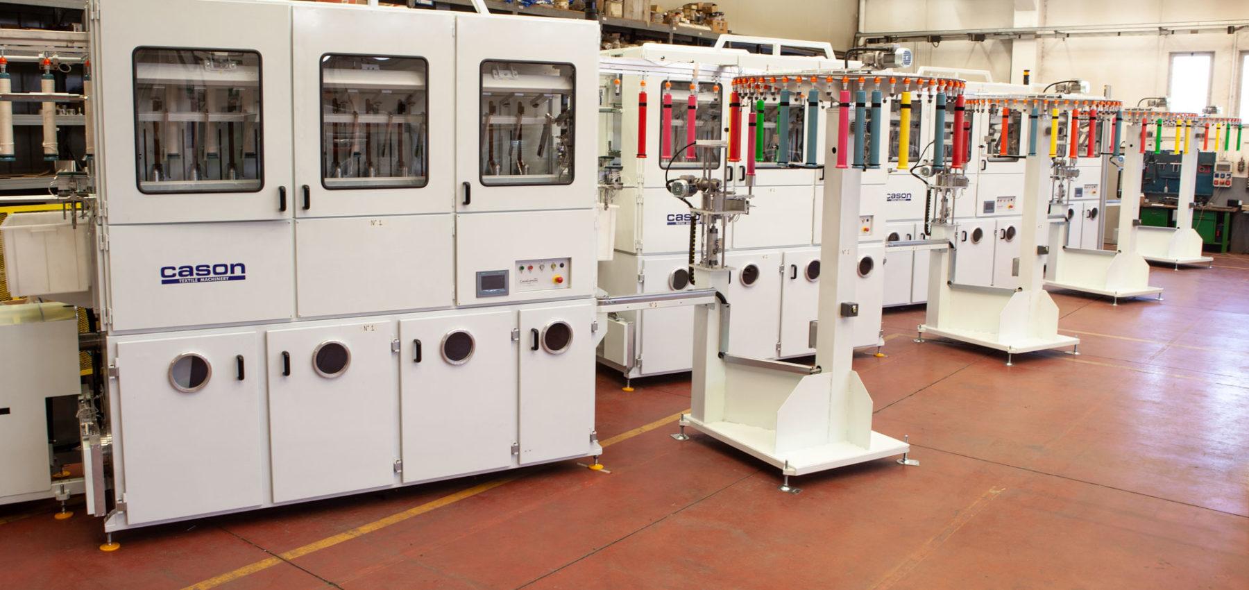 Textile Machines - Cason Companies