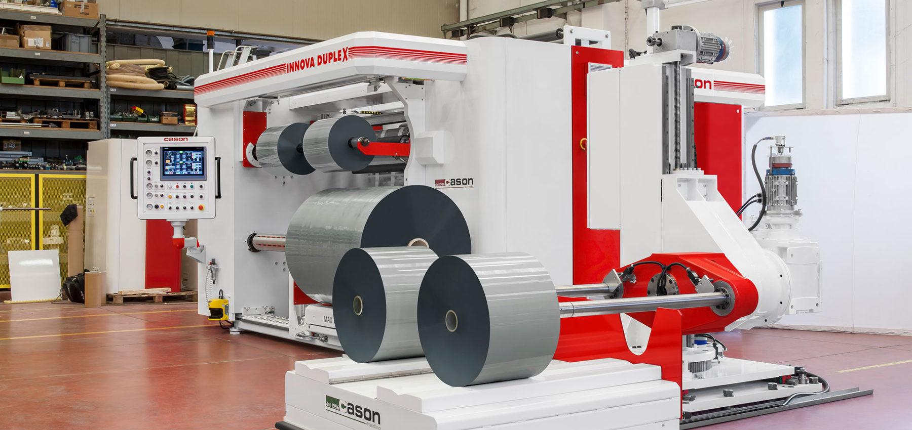 Duplex Diameter - Slitter Machine - Cason Companies