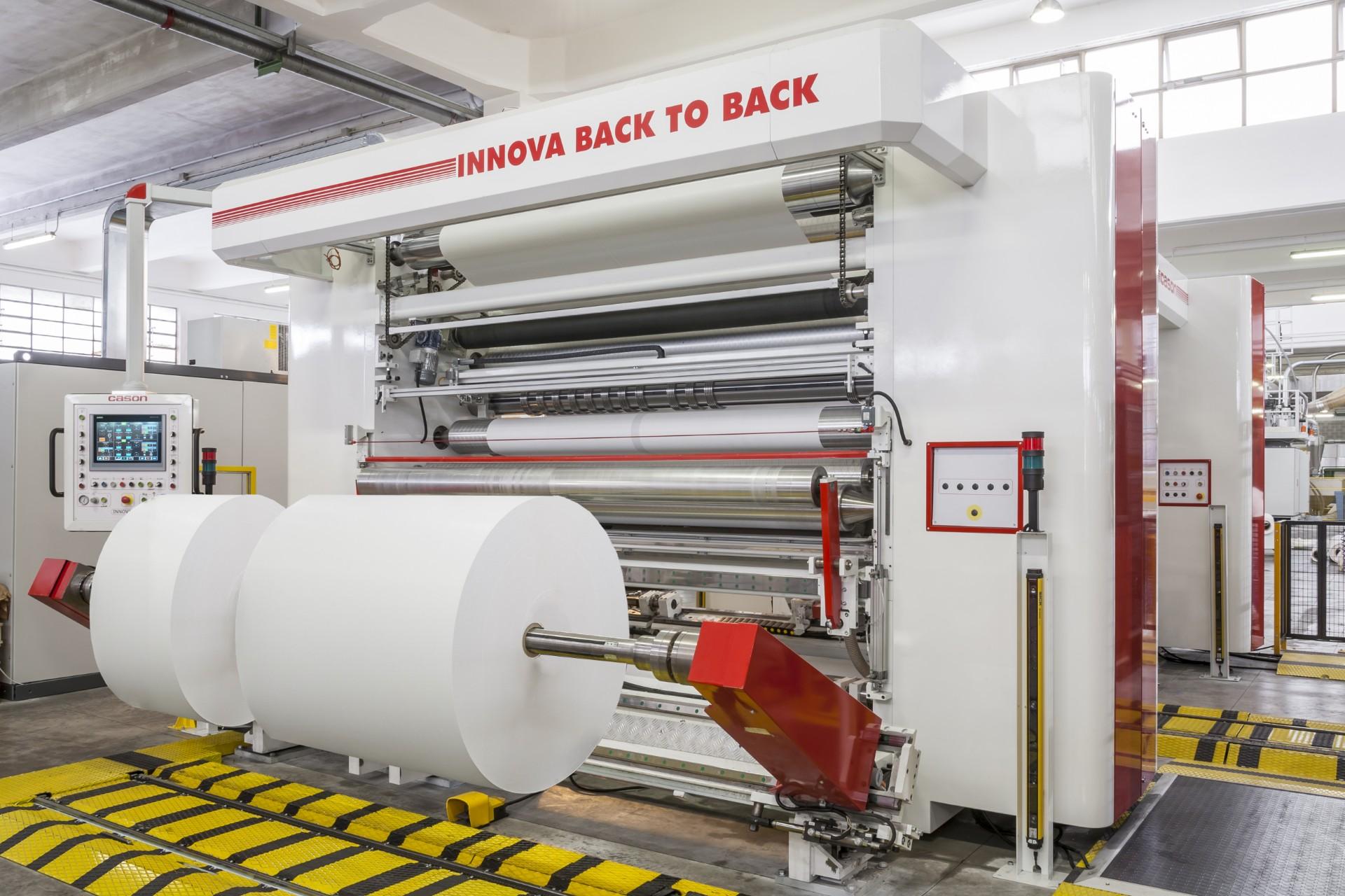 Innova BiBack - Slitter Rewinders - Cason Companies