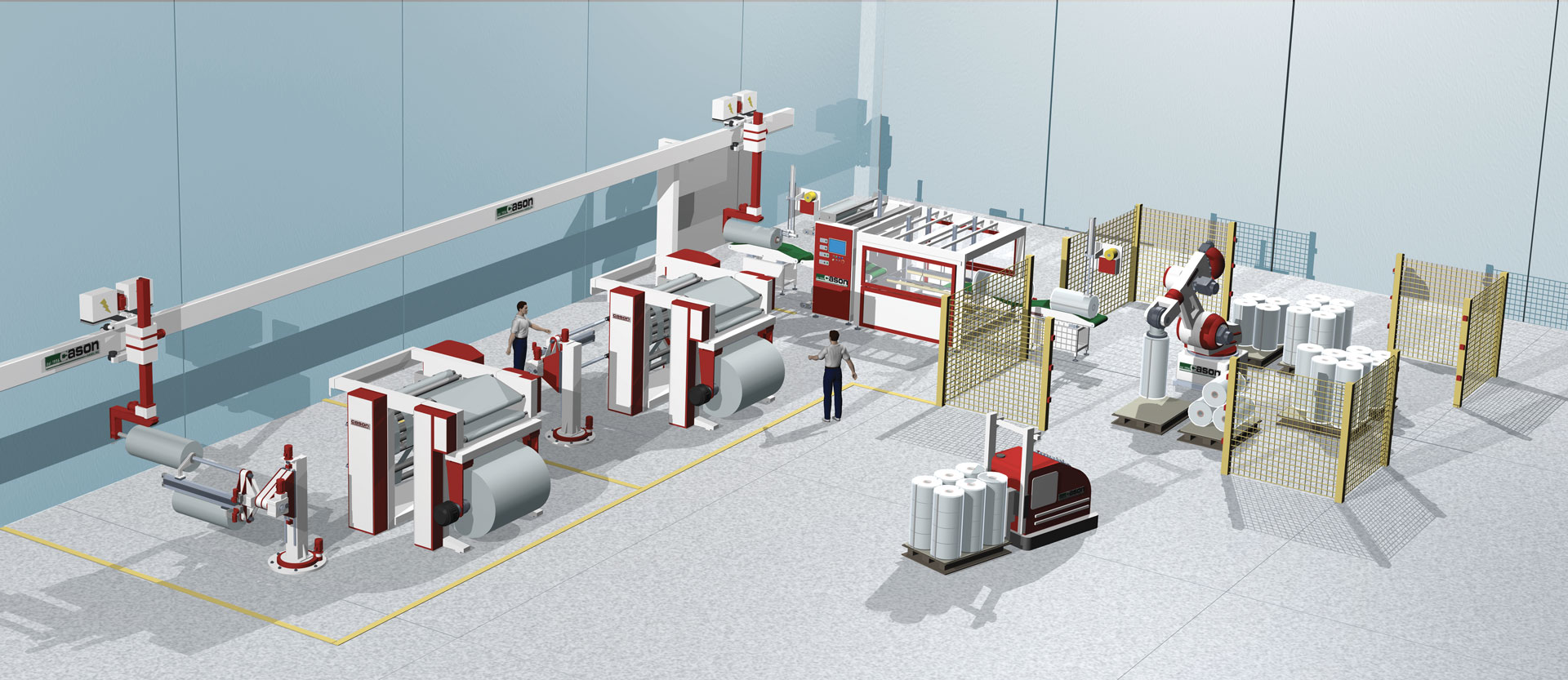 Full Automatic Plant - Handling Machines - Cason Companies